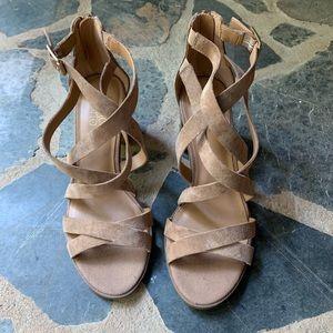 Franco Sarto heeled strappy Sandal